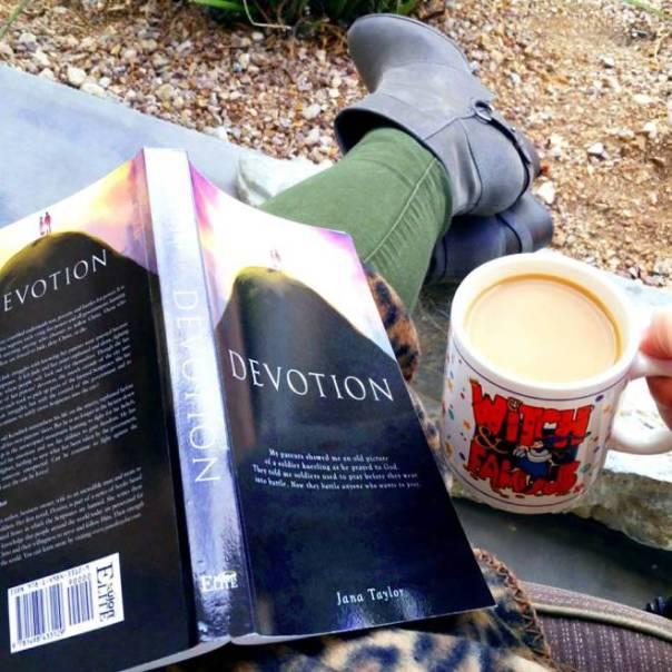 fergalicious by fergie Footwear - Fergie reading a good christian fiction book called Devotion by Jana Taylor